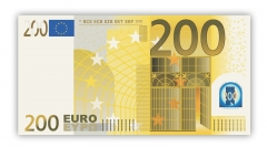 Poster 200 Euro Note